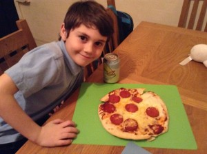 Pizza Face!